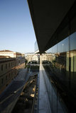 Exterior of the new Acropolis Museum in Athens, Greece / Πλαϊνή όψη του νέου Μουσείου της Ακρόπολης