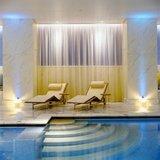 The spa of hotel Grande Bretagne in Athens, Greece, 2004 / Ξαπλώστρες στο σπα του ξενοδοχείου Μεγάλη Βρεταννία, 2004