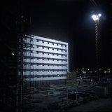 The under construction 5-star hotel Sofitel at the Eleftherios Venizelos airport, Athens, Greece, 2001 / Το υπό κατασκευή ξενοδοχείο 5 αστέρων, Sofitel Athens Airport, στο αεροδρόμιο Ελευθέριος Βενιζέλος το 2001