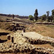 View of the archeological site of Nikopolis, Preveza, Epirus, Greece, August 2012 / Άποψη του αρχαιολογικού χώρου της Νικόπολης, Πρέβεζα, Ήπειρος, Αύγουστος 2012