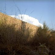 Walls inside the venetian fortress of Assos peninsula, ionian island of Kefalonia, Greece, August 2012 / Τείχη μέσα στο βενετσιάνικο κάστρο της Άσσου, Κεφαλονιά, Αύγουστος 2012
