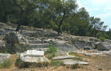 Ancient Road of Koile (Koile Road) at Filopappou Hill in Athens, Greece 2011 / Η αρχαία οδός Κοίλης στο λόφο του Φιλοπάππου, 2011