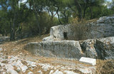 Ancient Road of Koile (Koile Road) at Filopappou Hill in Athens, Greece 2011 / Η αρχαία οδός Κοίλης στο λόφο του Φιλοπάππου, 2011