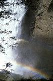 Waterfall in Yosemite Park in California, USA 1984 / Γιοσέμιτι Παρκ, Καλιφόρνια, 1984