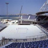 The Olympic beach volley venue in Faliro, Athens, Greece, July 2004 / Το Ολυμπιακό γήπεδο του Μπιτς Βόλεϊ στο Φάληρο πριν την έναρξη της Ολυμπιάδας, Ιούλιος 2004