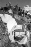 The village of Oia in Santorini Island, Greece, July 1990 / Ο οικισμός της Οίας στη Σαντορίνη, Ιούλιος 1990
