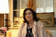 Singer Maria Farantouri at her house, Athens, June 2017 / Η ερμηνεύτρια Μαρία Φαραντούρη στο σπίτι της, Αθήνα, Ιούνιος 2017
