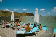 Swimming pool at Fresh Hotel in Athens, Greece, June 2014 / Πισίνα στο ξενοδοχείο Fresh στην Αθήνα, Ιούνιος 2014
