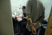 Darkside, tattoo store, Athens, Greece, May 2017 / Darkside, κατάστημα τατουάζ, Αθήνα, Μάιος 2017