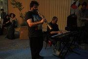 Saxophone player. Downtown Athens, Greece, May2017 / Σαξοφωνίστας. Στο εμπορικό τρίγωνο της Αθήνας, Μάιος 2017