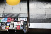 The bookstore of Ikaros Publishing House, Athens, Greece, August 2017 / Το βιβλιοπωλείο του εκδοτικού οίκου Ίκαρος, Αθήνα, Αύγουστος 2017