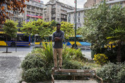 Jeff Gonzalez, rap and hip-hop musician, Athens, Greece. October 2017 / Jeff Gonzalez, μουσικός της ραπ και χιπ χοπ, Αθήνα, Οκτώβριος 2017