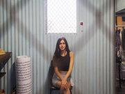 Nefeli Fasouli, female singer, Athens, Greece, June 2017 / Νεφέλη Φασούλη, τραγουδίστρια, Αθήνα, Ιούνιος 2017