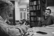 Makis Theofilaktopoulos, Greek painter, Athens, Greece, November 2017 / Μάκης Θεοφυλακτόπουλος, ζωγράφος, Αθήνα, Νοέμβριος 2017