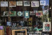Bibliotheque, library and arthouse, at Exarcheia neighborhood, Athens, Greece, May 2017 / Μπιμπλιοτέκ, βιβλιοθήκη στα Εξάρχεια, Αθήνα, Μάιος 2017