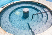The Athens Ledra Hotel swimming pool, Greece, June 2014 / Η πισίνα του ξενοδοχείου Athens Ledra Hotel, Ιούνιος 2014