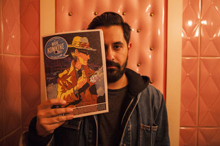 George Gousis, editor-in-chief of comic magazine Blue Comet